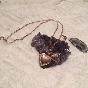 BCBGeneration Heart Locket Necklace